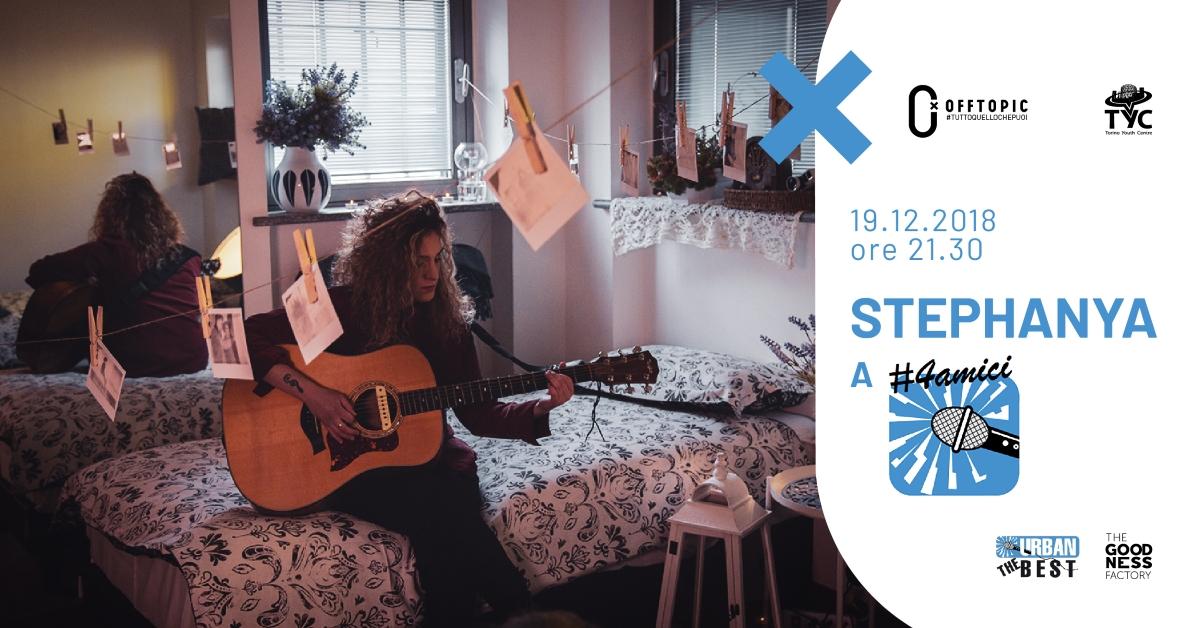 Stefania Tasca Stephanya 4amici - cover